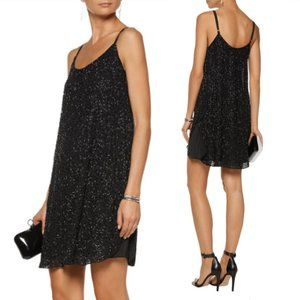 NEW🌸ALICE + OLIVIA Rhea Beaded LBD Sz M